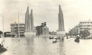 Big Flood in Bangkok, 1942